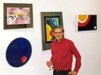 Paul Douglas at his Vernissage at Carl Schurz Haus, Freiburg, Germany